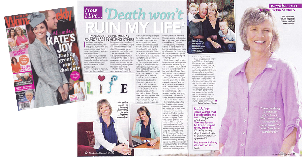 New Zealand Women's Weekly Article